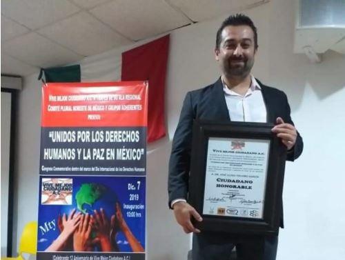 Presidente de los Derechos Humanos en Monterrey Nuevo Leon